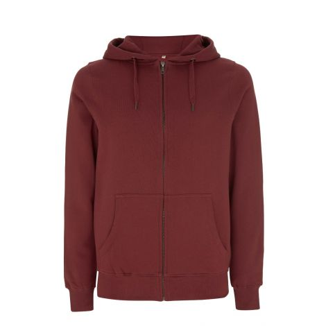 Zip-Up Hoody Burgundry