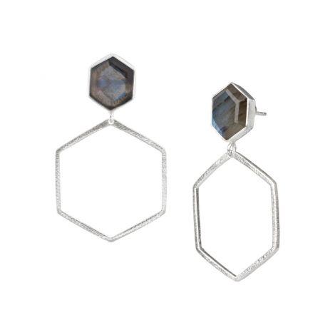 Hexagon on Hexagon Silver