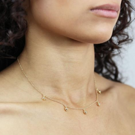 EVA NECKLACE: Gold Filled