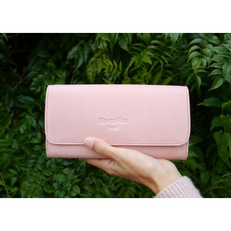 LLOSETA wallet rosa leather