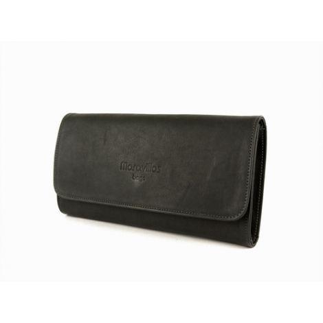 LLOSETA wallet black leather