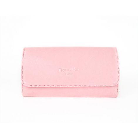 LLOSETA wallet rosa leather