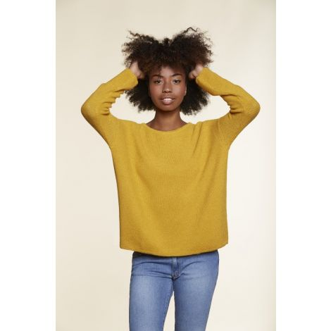 Large Sweater yellow