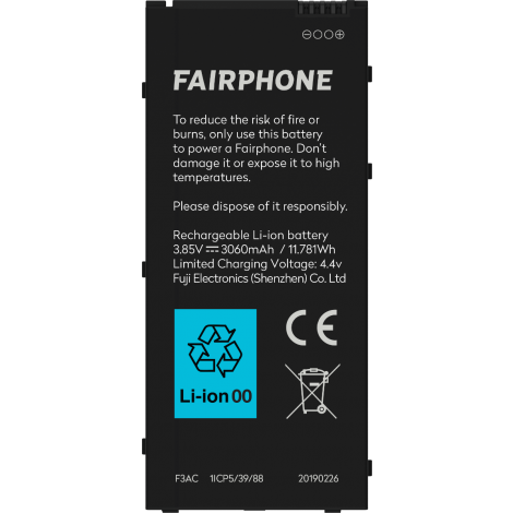 Fairphone 3 Akku