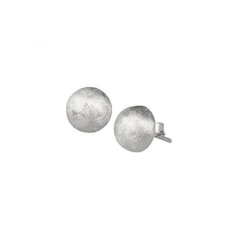 Half-Round Studs Silver