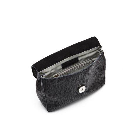 Hip Bag #Melo black Leder