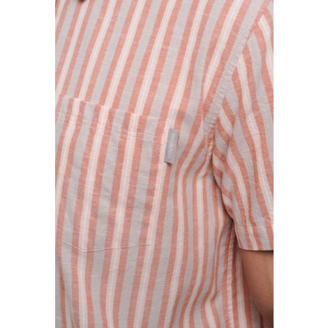 Linen Shortsleeve Shirt #STRIPES