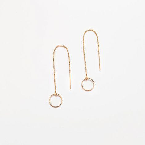 NEELA EARRINGS: Gold Filled