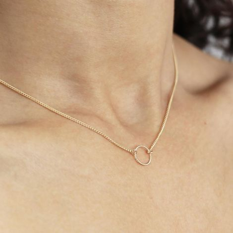 Neela Necklace: Gold Filled