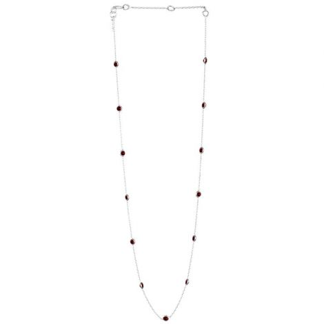 Small Dotted Chain Silver