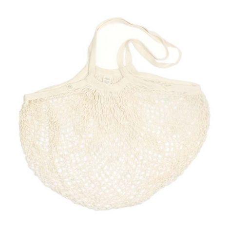 Organic Cotton Long Handled Shopping Bag