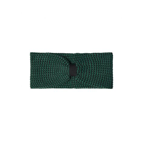 Knit Headband #MOULINE dark eukalyptus