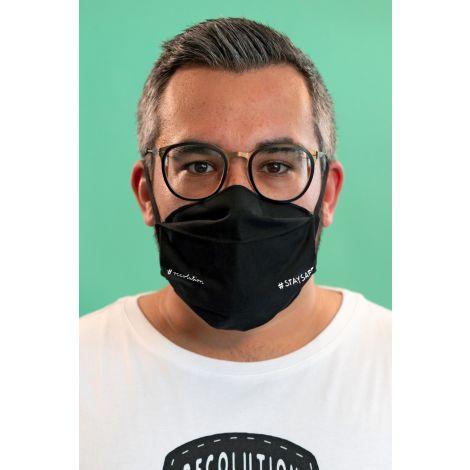 Face Mask #STAYSAFE black