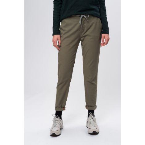 Canvas Pants Slim