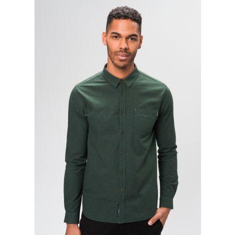 Basic Shirt dark eukalyptus