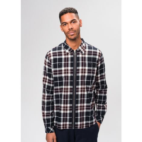 Flanell Jacket #CHECKED red checked
