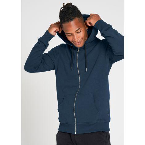 Basic Sweatjacket deep blue