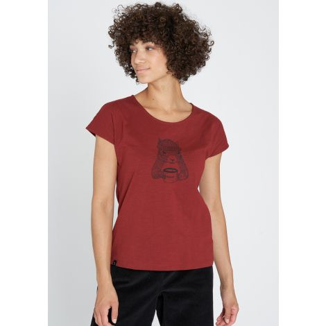 Casual T-Shirt #SQUIRREL autumn red