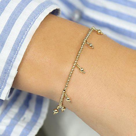 Oshun Bracelet: Grosse verstellbar / Gold Filled / Normal
