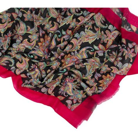 Printed Stoles Paisley red
