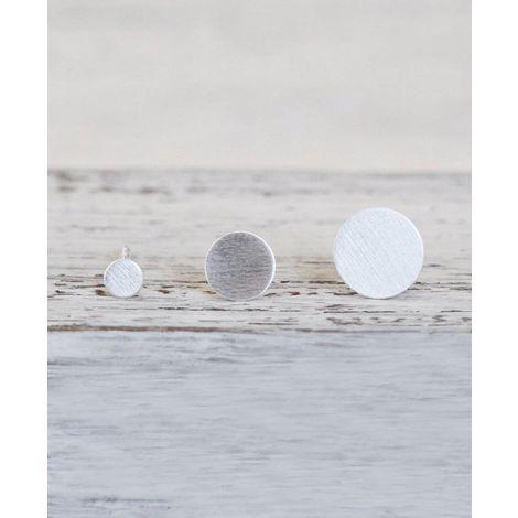 Silber Ohrstecker Dot