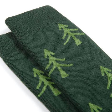 Polar Tree Socks green dark green|light green