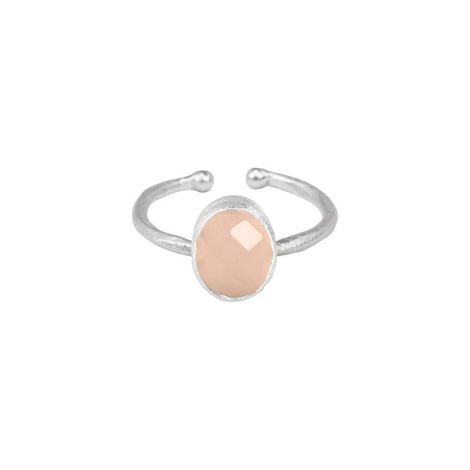 Oval Ring - Multi Set Silver