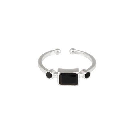 Rectangular Ring Silver