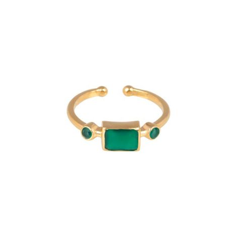 Rectangular Ring Gold