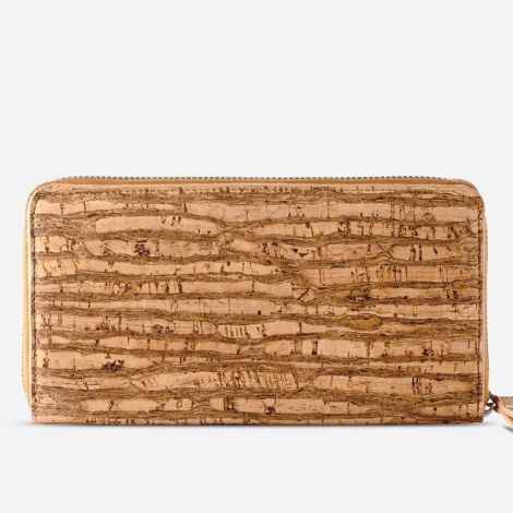 Cork Wallet Long